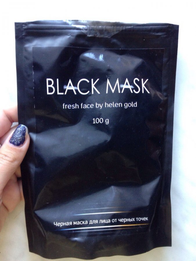 Жалоба-отзыв: ПП Баляшкин - Подделка маски для лица Black Mask