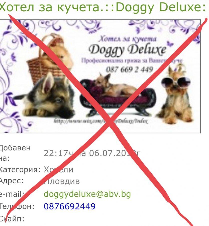 Жалоба-отзыв: Doggy deluxe xotel - Doggy deluxe гибель собаки, вину отрицают.  Фото №2