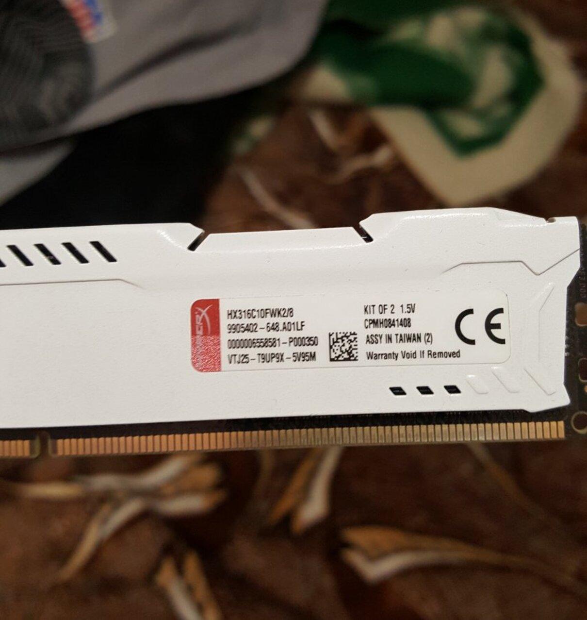 Жалоба-отзыв: Прудько Андрей Сергеевич - Продал нерабочую оперативную память 8GB DDR3 Kingston HyperX.  Фото №1